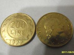 Moneta  da  lire 200 del 1977 IN OTTIME CONDIZIONI di affaryonline su Etsy