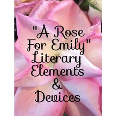 This Omega English product contains a very detailed CCLS aligned lesson plan that highlights the Danielson Domains. In contains differentiation; thus, this product can be used with diverse learners. The lesson plan focuses on the literary elements, techniques, and rhetorical devices used in A Rose For Emily and how they deepen the readers understanding of the text.