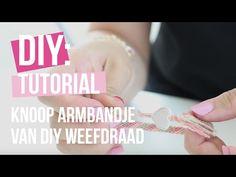 DIY weefdraad knooparmbandjes maken