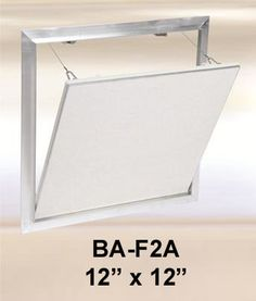 Invisible Hardware Access Panel With Architectural Finish Bauco