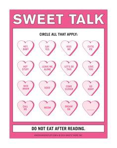 Gift Idea - Knock Knock Nifty Note Pad, Sweet Talk