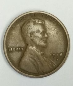 1918-S Lincoln Wheat Cent, Amazing Detail, Wheat Lines, Suit, Low Mintage, Rare Coin, Vintage. We've added an exciting new vintage coin for your review: 1918-S Lincoln Wheat Cent (San Francisco  S  Mint-Mark) Amazing Detail, Wheat Lines, Suit. Low Mintage, Rare S-Mint-mark