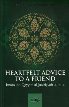 Heartfelt Advice to a Friend