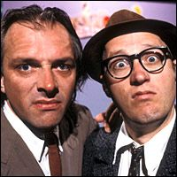 Bottom with Rik Mayall and Adrian Edmonson British Comedy, British Actors, Ade Edmondson, Rik Mayall, Comedy Tv, Great Tv Shows, Belly Laughs, Man Humor, Best Tv