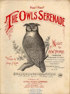 bricolage: Antique Sheet Music
