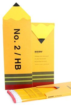 #pencil #packaging #No2 #HB