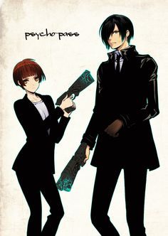 psycho-pass by obaka3.deviantart.com on @deviantART seeing him with out his glasses on.. Soooo many feeelllsss