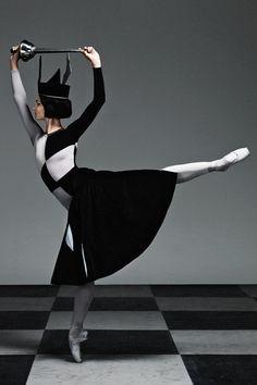 Olivia Bell in Checkmate. The Australian Ballet.