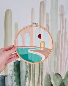 A Stitch Ago sur Instagram: An empty swimming pool? . . . . . . . #embroidery #embroideryart #embroideryhoop #embroideryinstaguild #embroiderylove #embroideryartist… Embroidery Art, Empty, Swimming Pools, Stitch, Artist, Instagram, Weaving, Embroidery, Tricot
