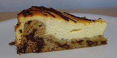 Fuldstændig forrygende cheesecake med den lækreste cookie dough bund. Wow, den er god!