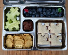 A Puzzling Lunch in a #PlanetBox ~ Becoming A Bentoholic  #LunchPunch