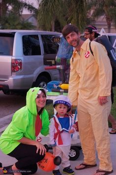 Chris: My husband is a huge ghostbusters fan and had his costume from when he dressed up a few years ago. We decided this year to take it up a notch,...