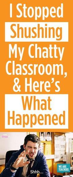 How to Quiet a Noisy Classroom - WeAreTeachers
