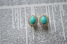 I need these....   NEED  Hey, I found this really awesome Etsy listing at http://www.etsy.com/listing/158592821/turquoise-stone-with-diamond-plugs-sizes