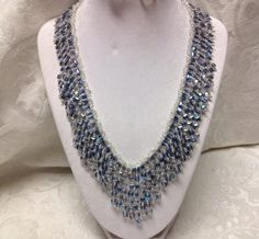 Crystal Cube Necklace Tutorial part one
