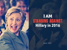Pin it if you're against another Clinton in the White House.