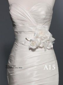 Sash by Private Label Style A15  Available though #Garbers #Bridal