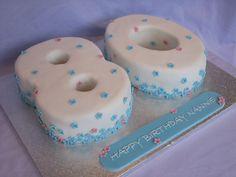 Ideas For 80th Birthday Cakes Fondant Cake – Pictures cakepins.com