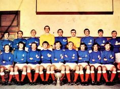 Rangers squad from 1970 ! Rangers Team, Football Pictures, Team Photos, Lion Tattoo, Sophia Loren, Glasgow, Squad, Icons, Club