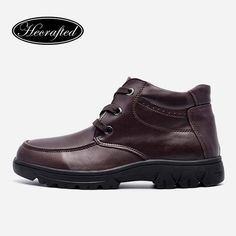 Size men winter shoes Genuine leather plus size Handmade men winter snow… Mens Winter Boots, Winter Shoes, Timberland Boots, Leather Boots, Men's Shoes, Fashion Outfits, Sneakers, Cow, Collection