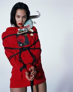 Kiko Mizuhara for Supreme x Nobuyoshi Araki Collection Kiko Mizuhara, Air Jordan, Reebok, Tim Walker, Punk, Foto Art, Cultura Pop, Streetwear Brands, North Face Backpack