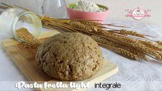 Pasta frolla light integrale - senza uova, latte e lievito (945 calorie)