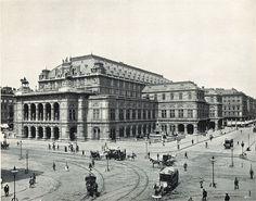 """Vienna, 1900: State opera - """"erste Haus am Ring"""""""