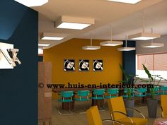 "Winning Interior Design meeting space ""The Loft"" Seats2meet (@S2M030) Utrecht, designed by Huis & Interieur (@Huis & Interieur) and Marcella Vermeer Interieuradvies (@Marcella Vermeer)"