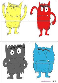 Motor skills: Cut- The color sample – Knippen Class Dojo, Colors And Emotions, Early Intervention, Preschool Art, Art Activities, Motor Skills, Pre School, Elephant, Album
