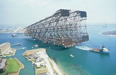 big Magazine Deco, Oil Platform, Boutique Deco, Big Oil, Drilling Rig, Naval, Oil Industry, Oil Rig, Out To Sea