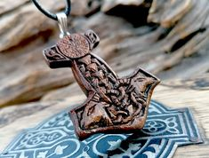 Magic Talisman Vicca Jewelry Raven Necklace Viking Amulet Raven Pendant