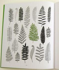 eloise renouf, ferns. via print & pattern