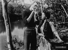 Broken Arrow - Publicity still of James Stewart & Debra Paget
