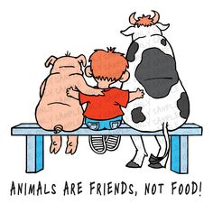 Animals are friends. This is exactly how Christina and Michael feel!