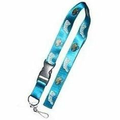 Jacksonville Jaguars Lanyard by PSG. $0.89. Nylon Lanyard with Velcro Breakaway Closure, Made in Team Colors, With Detachable Plastic Clip with Key Ring and Metal Clip, 18 inches long on each side x 1 inch wide