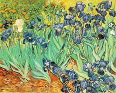 Lírios, por Vincent Van Gogh