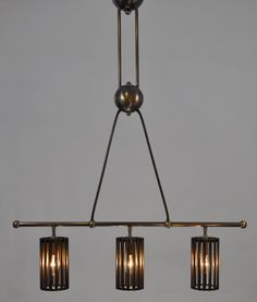 brass lighting fixture