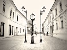 The city of Baia Mare in northwestern Romania is known for its mining history and well-preserved medieval remnants. Here, a quiet street is captured by National Geographic Your Shot contributor Cristi Niculescu. Urban Photography, Photography Photos, Street Photography, Lightroom, Photoshop, Vintage Architecture, Free Desktop Wallpaper, Photo A Day, National Geographic Photos