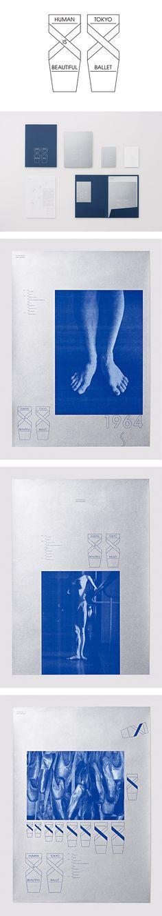 第41回ONE SHOW DESIGNで、荒井康豪の「Human is Beautiful 東京バレエ団」がSILVERを受賞。 | NEWS | 日本デザインセンター Typography Logo, Logos, Japan Design, Brand Packaging, Japanese Art, Layout Design, Signage, Tokyo, Catalog