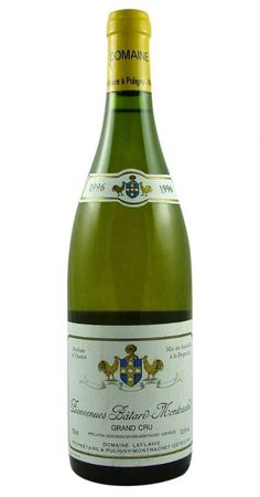 Bienvenues-Bâtard-Montrachet Grand Cru 1996 Leflaive from Burgundy Wine Cellar.
