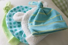 easy and cute DIY baby hats!!!