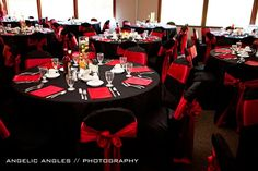 Image detail for -... red black and white Wedding Decorations Red ...