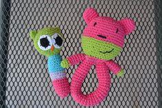 Sonajero para bebe, en hilo de algodon. totalmente lavable. Tejido al crochet. https://www.facebook.com/objetosconhilos