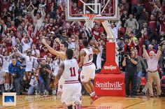 IU's win over No. 3 Wisconsin. Go Hoosiers! #IUCollegeBasketball