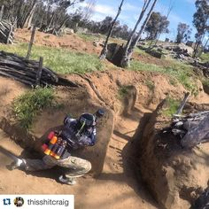 We've got some beautiful new trenches. Come out and play on Friday. Click the link in bio for details. #paintball #pewpewpew #playoutside DO NOT JUMP INTO OR OVER TRENCHES #Repost @thisshitcraig with @repostapp. Little Sunday Funday action in the trenches @velocitypb before it's back to the grind for @wcpplevents!! @bobbyeventvibe #technokitty #hkarmy #BlendersEyewear #Eventvibe #rapideyemedia #paintball @sdtechnokitty @blenderseyewear by velocitypb