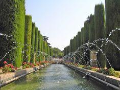 Jardines del Alcázar de los Reyes Cristianos,  Córdoba - Portal Fuenterrebollo