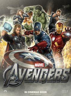 Avengers! Estreno hoy a la medianoche!  #AvengersAssemble!