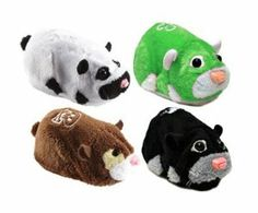 Zhu Zhu Pets Series 5 Set of 4 Hamster Toys Bamboo, Capt. Zhu, Dezel Shamrock by Cepia LLC. $29.99. Make playtime more fun with interactive realistic hamsters. They are artificially intelligent hamsters that talk and move around their habitat.