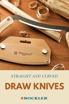 Are curved- and flat-edged drawknives intended for different tasks? Learn more here! #createwithconfidence #drawknives #straight #curved #learn Rockler Woodworking, Woodworking Hand Tools, Beginner Woodworking Projects, Woodworking Shop, Wood Carving Tools, Wood Working For Beginners, Antique Stores, Wood Turning, Workshop