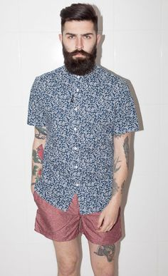 From the waist up. Shirt, hair, beard, all good. Add the shorts and it all falls apart...